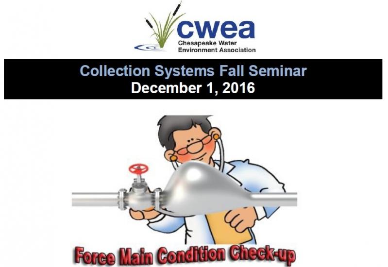 Collection Systems Fall Seminar December 1, 2016
